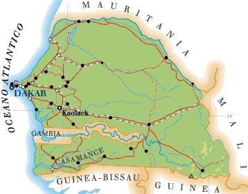 Cartina Fisica Senegal.Senegal Sn Rayan Services