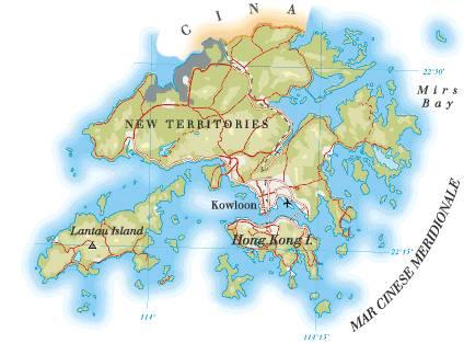 Cartina Hong Kong.Hong Kong Sar Rayan Services