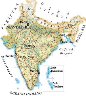 Cartina India.India Rayan Services